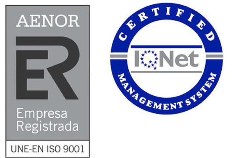 Certificados Aenor Garsa