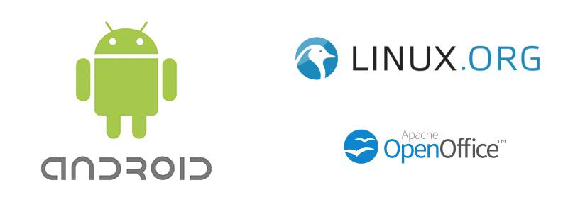 Programas open source conocidos