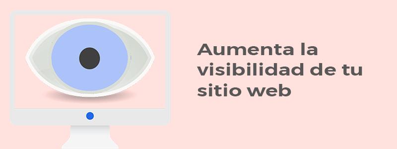 Conseguir más visibilidad online
